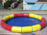 Бассеин круглый, раздувной плавательный бассеин семьи раздувной. Самый большой раздувной бассеин