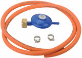 LPG Euro Pressure Gas Regulator met Hose (C30G08U30)