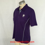Knitted casuale Short Sleeve, Sports Wicking Polo Shirt per Ladies