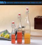 Intervallo di Kilner della bottiglia della parte superiore della clip che conserva il vaso di vetro di vino