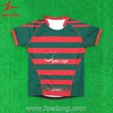 Uniforme Tingir-Cheio do rugby de Jersey do rugby do Sublimation