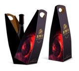Упаковывая бумажные коробки вина с окном (WB-019)