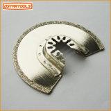Le cercle de diamant semi scie la lame multi de oscillation de diamant d'outil de lame
