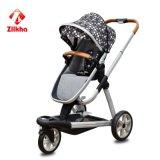 De Wandelwagen van de baby met Frame en Hete Dringende Zetel