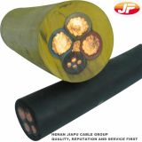 Cobre subterráneo del cable 3X150mm2 12/20 (24) envolturas del PVC del kilovoltio XLPE Insualted/sin la armadura