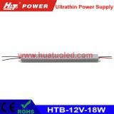 12V-18W alimentazione elettrica ultrasottile di tensione costante LED
