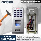 Fr-W3 делают посещаемость водостотьким Control&Time доступа фингерпринта металла автономный
