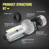 LED 차 빛 헤드라이트 자동차 헤드라이트 S2 H7 옥수수 속 8000lm 72W 차 헤드라이트