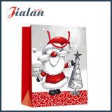 BSCI Lieferanten-kundenspezifisches Firmenzeichen druckte Weihnachtsentwurfs-Papierbeutel