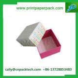 Rectángulo de papel impreso cartulina de empaquetado del regalo del rectángulo de la pulsera