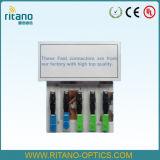 Conector rápido óptico FC de la fibra a una cara del Sc de la fábrica SM para la fibra al hogar