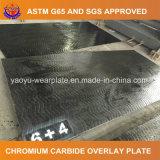 Плита верхнего слоя карбида хромия для машины минералов обрабатывая