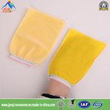 Устранимая Non-Woven одиночная желтая перчатка ванны