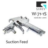 Sawey W-71-1s 수동 손 페인트 분무 노즐 전자총