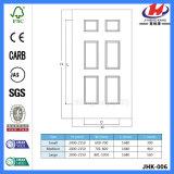 6 дверей панели нутряной отлитых в форму ванной комнатой белых (Jhk-006)