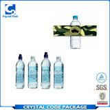Экологический стикер ярлыка печатание бутылки минеральной вода