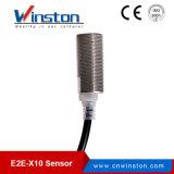 Тип переключатель разъема E2e-X10 датчика близости индуктивности притока с Ce
