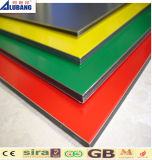 Panneaux décoratifs de panneau d'ACP de façade composée en aluminium de feuille