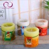 Qualitäts-Paraffinwachs-duftender Pfosten leuchtet quadratische Kerzen für Hauptdekoration-Festival-Geschenk durch