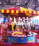 Tendas afortunadas do jogo do carnaval das cabines do jogo do carnaval das moedas que jogam o equipamento do parque de diversões das moedas