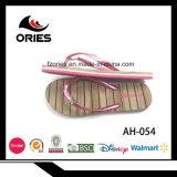 Тапочки PE PVC украшений бабочки верхние деревянные для женщин