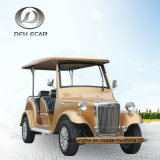8 Seaters 장기 사용 전기 골프 차 고전적인 차량 Automible