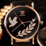 Z360は高品質の女性水晶革美しいデザイン腕時計を卸し売りする