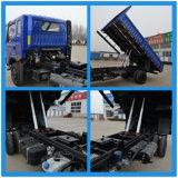Shifeng Fengchi2000 5-8 톤 150HP 평상형 트레일러 중간 또는 경트럭