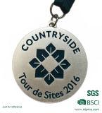 De verwijderde Lopende Medaille van het Email van het Embleem met Overdracht Afgedrukt Sleutelkoord
