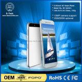 Ultra delgada pantalla de 7 mm 2.5D Quad Core de 5,25 pulgadas del teléfono móvil de Andriod 6.0 1 GB de RAM 16 GB de ROM 4G LTE Smar tphone