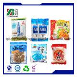 包むポテトチップかポテトのスライス袋またはプラスチックポテトチップ袋