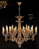 Luxe Golden Brass Chandelier Pendant Lamp ( MD0638-36 )