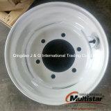 Orlo d'acciaio dell'acciaio dell'azienda agricola della rotella del pneumatico del cerchione dello strumento bianco 9.00X15.3 11.5/80-15.3