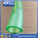 De couleurs boyau tressé multi de l'eau de jardin de PVC de fibre légère d'odeur non