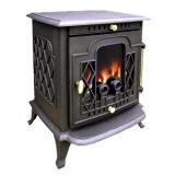 Stufa del ghisa, stufa Burning di legno del vero fuoco (FIPA027)