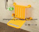 Cadeira ajustável, cadeira de chuveiro de dobramento do toalete do banho do equipamento médico
