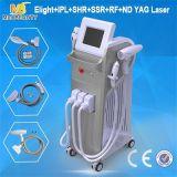 Migliore macchina 5 del laser di IPL di ringiovanimento della pelle di rimozione dei capelli dell'E-Indicatore luminoso in 1 per le vendite (MB600)