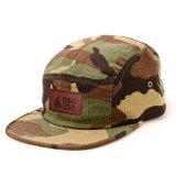 Sombrero de encargo del campista del panel de Hip Hop Camo 5