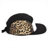 Correa de nylon de encargo Hip Hop 5 sombreros de los casquillos del Snapback del panel