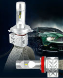 Philips LED saltara la lámpara principal de la linterna/LED del coche de 25W 4000lm 6500k 5s H7