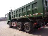 Sinotruk HOWO 10 타이어 팁 주는 사람 트럭