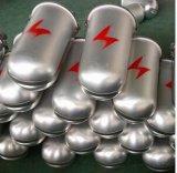 Casquillo-Tipo rectángulo común del metal para poste