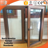 Окно Casement множественного деревянного цвета алюминиевое, окно для виллы, окно Casement Teak деревянное твердого Teak деревянное для лидирующей виллы