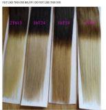 onda peruviana peruviana del corpo dei gruppi 8-28inch dei capelli di PCS Ombre del tessuto 3 dei capelli di tono di Ombre tre dell'onda del corpo dei capelli del Virgin dei capelli di 8A Ombre