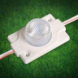 Módulo de LED de inyección 5730 impermeable con lente óptica para caja de luz LED y letras de canal