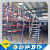 Fabricación del estante del entresuelo del CE para el almacén industrial