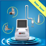 Portátil de CO2 fraccionaria láser RF piel apretando la máquina (HP07)