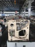 ウォータージェットの織機のための縫う機械装置