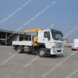 10 Toneladas hidráulico telescópico Boom de camiones grúa de carga de la grúa para la venta
