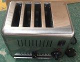 Тостер горячей нержавеющей стали сбывания коммерчески с 4-Slice (HET-4)